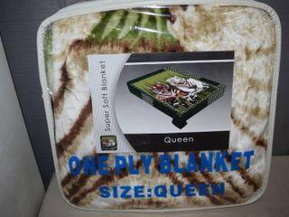 Queen Plush Blanket