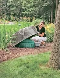 Faux Rock Septic Tank Cover