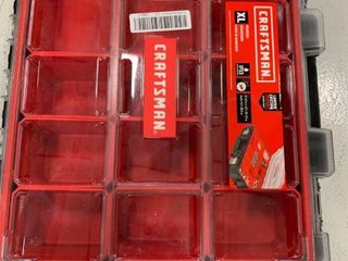Craftsman Pro Organizers 12 compartment Plastic Small Parts Organizer