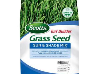 The Scotts Number 7 Turf Builder Sun and Shade