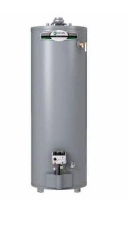 AO Smith signature 40 gallon tall 40000 btu natural gas hot water tank