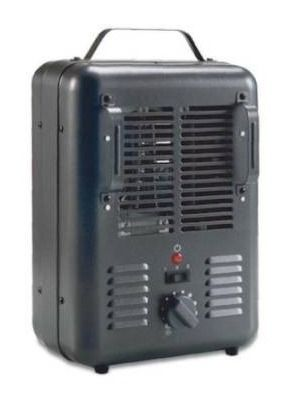 Omniheat 1299186 Milkhouse Utility Fan Heater 5 100 Btu Safety Shutoff 160sqft