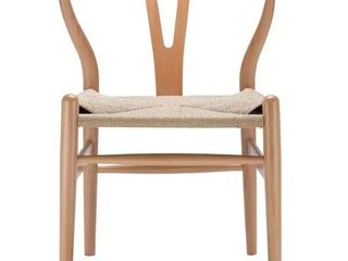 Pair of chairs  Poly and Bark Weave Chair in Natural