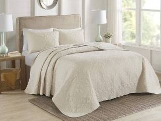 510 design three piece bedspread set king
