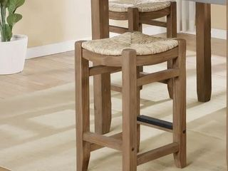 Short   16 22 in  The Gray Barn Enchanted Acre 18 inch Wood Stool