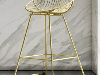 Cosmoliving by Cosmopolitan Ellis Wire Metal Counter Stool Retail 115 00