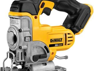 DEWAlT DCS331B 20 Volt MAX li Ion Jig Saw  no battery  tool only