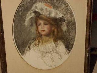 Framed Picture of Girl