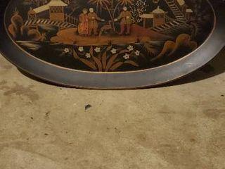 Oriental Plate Decor
