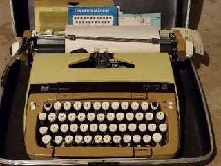 Beautiful Smith Corona Galaxie Twelve Typewriter