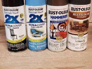 lot of New Rustoleum Spray Paint