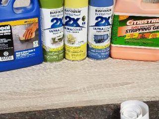 lot of Paint Chemicals