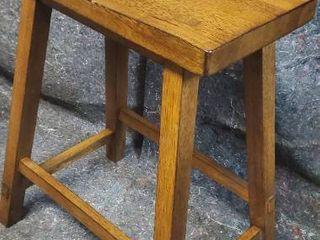 New Assembled Solid Wood Barstools