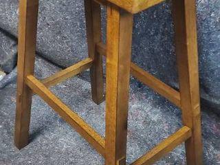 Solid Wood Barstool
