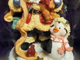 Santa and Penguin Stocking Holder