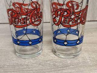 Pepsi Cola Glasses