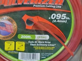Weed Warrior Replacement Trimmer line   95  200  large Donut