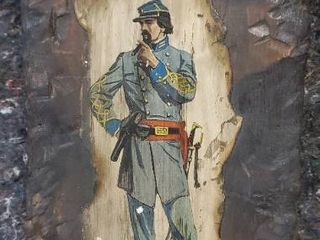 Civil War Infantry Soldier Wall Hanging