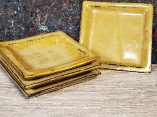 lot of 4 Small Ceramic Plates