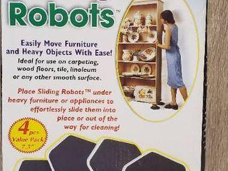 Sliding Robots 4 Pieces 7 6 inches