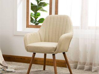 Carson Carrington Fellingsbro Pleated Fabric Accent Chair Retail 118 99