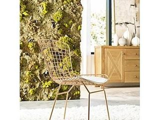 Elle Decor Holly Wire Chair  Set of 2 Retail 219 99