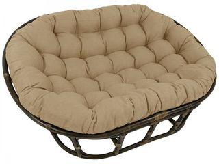Sandstone Blazing Needles 65 inch Indoor Outdoor Double Papasan Cushion