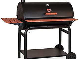 Char Griller 2137 Outlaw 1063 Square Inch Charcoal Grill   Smoker