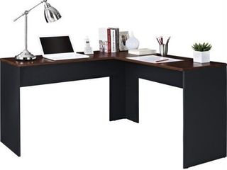 l Shaped Eastcrest Contemporary Desk Cherry Slate Gray   Room   Joy