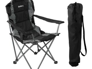 GigaTent Outdoor Camping Chair   lightweight  Portable Design  Black
