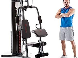 Marcy 150 lb Multifunctional Home Gym Station for Total Body Training