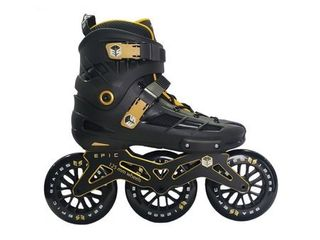 Epic Engage Inline 125mm Indoor Outdoor Fitness Skates  Size 12  Retail 199 00