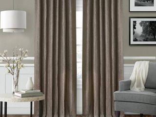 Elrene leila Matelasse Blackout Window Curtain Panels  3