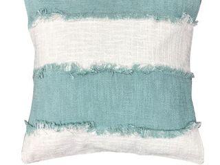 Cabana Stripe Cotton Throw Pillows  Set of 2