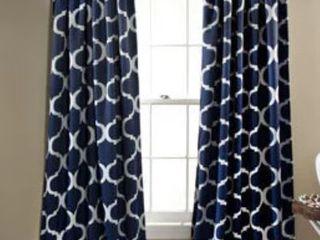 Gracewood Hollow Chidzero Trellis Curtain Panel Pair   52 x 84 in