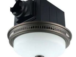110 CFM Ceiling Exhaust Bathroom Fan with light and Nightlight  Retail 104 49
