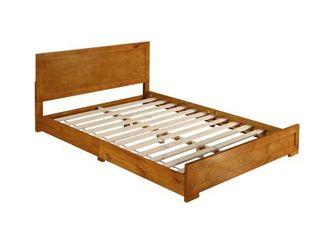 Oxford Oak King Bed