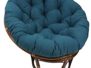 Blazing Needles 52 inch Solid Twill Papasan Cushion  Retail 89 99