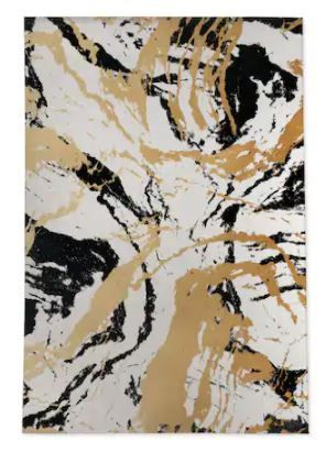 MARBlE Area Rug by Kavka Designs  Retail 673 99