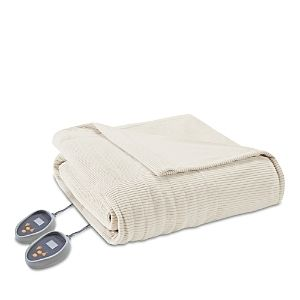 Beautyrest Ribbed Microfleece King size Heated Blanket  Retail 139 49
