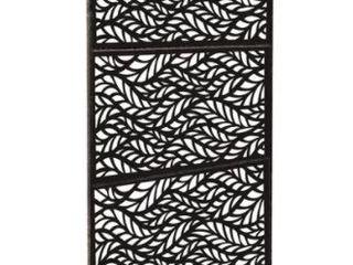 HighlanderHome Freestanding Modular Metal Privacy Screen  4ft x 6ft  Retail 276 99