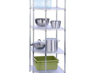 Honey Can Do 5 Tier Corner Shelf  Retail 154 99