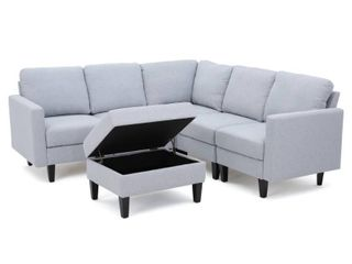 Incomplete  Corner Chair Only  Zahra Sectional By Christopher Knight Home  Retail 883 99