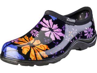 Sloggers Women s Flower Power Waterproof Shoe  Size 8