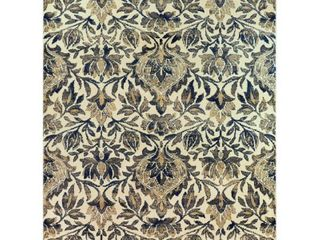 Foster Damask Area Rug  Retail 176 49