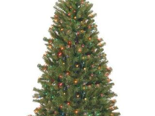 6 5 ft  Aspen Spruce Tree with Multicolor lights  Retail 132 99