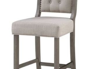 Kaplan Stationary Counter Stool by Greyson living  Retail 207 99