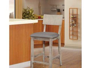 loren Grey Wash Counter Stool  Retail 105 35
