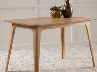 Gideon Dining Table Natural Oak   light Beige  Christopher Knight Home  Retail 456 99