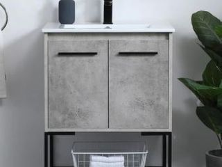 Woodland Modern Vanity Cabinet Set with Top  Retail 393 99